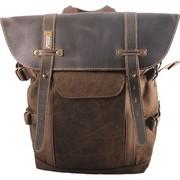 国家地理 NG A5280 5年质保 小型双肩摄影包 非洲系列新品 皮革配搭柔软洗水帆布