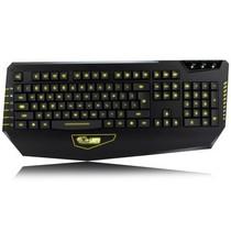 达尔优 审判者三色背光游戏键盘 黑色产品图片主图