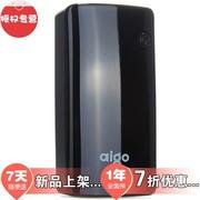 动力舱(aipowo) aigo 爱国者公司出品 FB7000 7000毫安 移动电源 聚合物 通用版 充电宝 尊贵黑色 官方标配+4个充电转接头