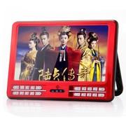 小霸王 视频扩音器E-919 9寸高清视频电视接收扩音器唱看戏机音响内置FM收音机 红色标配