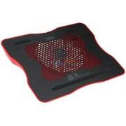 超频三 铁马 (全铝面板)笔记本散热垫(红色)
