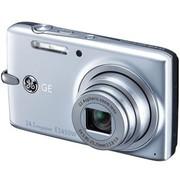 GE E1450W 数码相机 银色(1410万像素 5倍光变 2.7寸液晶屏)