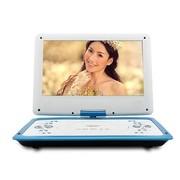 金正 移动电视DVD-12 14英寸全格式便携式EVD影碟机支持3D模式USB接口游戏功能蓝