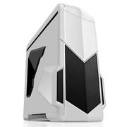 先马 影子战士 (白色标准版)精品游戏机箱 (双U3/双调速器/双开关/二合一读卡器/侧透)