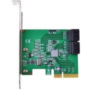 魔羯 MC2688 台式机PCIE x4 SATA3.0扩展卡4口SATA6GB/S 支持SSD硬盘支持raid0、1、10