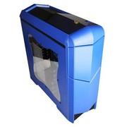 撒哈拉 飞行者AX8限量版宝石蓝 中塔游戏机箱 (U3/侧透/背线/SSD/磁吸式滑盖)