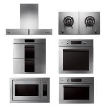 方太 总厨六系 油烟机 燃气灶 消毒柜 蒸箱 烤箱 微波炉 六件套产品图片主图
