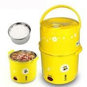 艾纳优 A-286 魔术锅 电煮锅 电火锅 迷你电锅学生煲汤 一款万能的电煮锅 黄色
