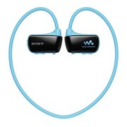 索尼 NWZ-W273S 防滴溅运动式MP3 游泳时可佩戴的Walkman 4G 蓝色