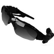 HNM 蓝牙太阳眼镜 智能眼镜  蓝牙眼镜  智能穿戴眼镜 时尚眼镜 迷你眼镜 手机眼镜 车眼镜 酷黑 套餐一