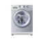 海尔 XQG60-BS1086AM 6公斤全自动滚筒洗衣机(银灰色)产品图片1