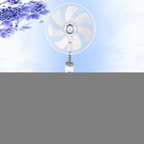 长城 电风扇 青花305 16寸落地扇 铝壳全铜线电机 7片AS风叶 遥控版产品图片主图