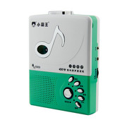 小霸王 倚天E303磁带复读机 正品工厂直营 英语录音随身播放器 草绿色