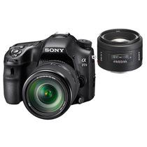 索尼 α77M2 a77 M2 ILCA-77M2 单电相机(18-135mm F3.5-5.6/50mm F1.4双镜头套机)产品图片主图