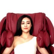 荣泰 6038按摩椅太空舱家用电动按摩椅全身 红色