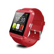 喜越 U8新款智能手表手环车载可通话蓝牙手表来电免提震动 玫瑰红
