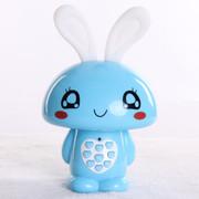 小霸王 爱心兔儿童早教机故事机婴幼儿童宝宝益智玩具 儿童MP3可下载充电 宝宝喜爱 蓝色2G