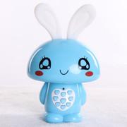 小霸王 爱心兔儿童早教机故事机婴幼儿童宝宝益智玩具 儿童MP3可下载充电 宝宝喜爱 蓝色4G