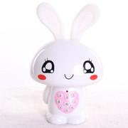 小霸王 爱心兔儿童早教机故事机婴幼儿童宝宝益智玩具 儿童MP3可下载充电 宝宝喜爱 白色2G