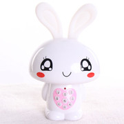 小霸王 爱心兔儿童早教机故事机婴幼儿童宝宝益智玩具 儿童MP3可下载充电 宝宝喜爱 白色8G