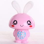 小霸王 爱心兔儿童早教机故事机婴幼儿童宝宝益智玩具 儿童MP3可下载充电 宝宝喜爱 粉红2G