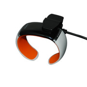 ione JD-Z1 智能手环 健康手环手镯 可穿戴智能蓝牙手表 手机平板通用 炫酷腕表 白橙SWA003