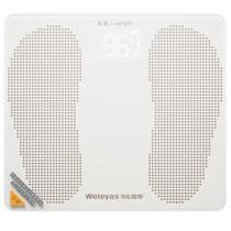 韦乐雅斯 B2 USB充电 电子称 电子秤 体重秤 称重人体秤 健康秤 皓月白B201产品图片主图