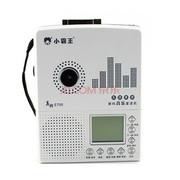 小霸王 数码音乐插卡复读机E705 支持外接U盘TF卡 LCD大屏5级变速随声听磁带机录音笔 黑色