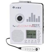 小霸王 数码音乐插卡复读机E705 支持外接U盘TF卡 LCD大屏5级变速随声听磁带机录音笔 黑色+16G卡