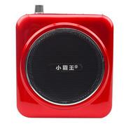 小霸王 便携式扩音器KK5 大功率导游教师促销专用报话器 带麦克风腰带连续扩音15小时待机 红色+4G歌曲精选卡