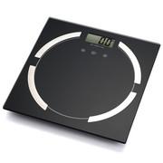 Meilen Meillen脂肪秤 电子称体重计测脂肪秤健康人体秤电子体重秤 精钢黑色