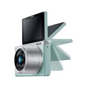 三星 NX mini 微型单电套机 绿色 (NX-M 9-27mm F3.5-5.6 ED OIS 镜头)