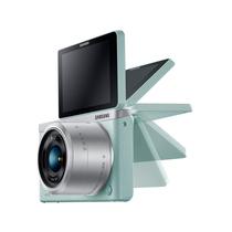 三星 NX mini 微型单电套机 绿色 (NX-M 9-27mm F3.5-5.6 ED OIS 镜头)产品图片主图