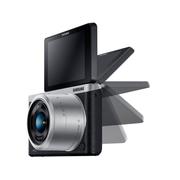 三星 NX mini 微型单电套机 黑色 (NX-M 9-27mm F3.5-5.6 ED OIS 镜头)