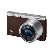 三星 NX mini 微型单电套机 棕色 (NX-M 9-27mm F3.5-5.6 ED OIS 镜头)