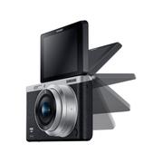 三星 NX mini 微型单电套机 黑色 (NX-M 9mm F3.5 ED 镜头)
