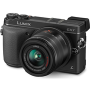 松下 GX7 单电套机 黑色(14-42mm 镜头)