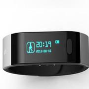 体记忆 超薄智能检测仪 T9 黑色智能手环