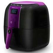 荣事达 RS-AF85 智能触摸立体加热经典紫黑色空气炸锅多用锅蛋糕机