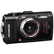 奥林巴斯 TG-3 超级运动相机(黑色/五重全方位防护功能/F2.0光圈/超级微距/WIFI分享/25mm广角)