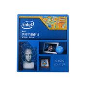 英特尔 酷睿i5-4690 22纳米 Haswell全新架构盒装CPU (LGA1150/3.5GHz/6M三级缓存)
