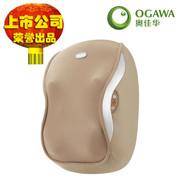 奥佳华 按摩器OE-2108大摩王3D按摩枕按摩靠垫劲肩腰部 棕色