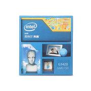英特尔 奔腾双核 G3420 Haswell 盒装CPU (LGA1150/3.2GHz/53W/双核/3M三级缓存)