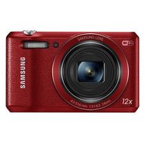 三星 WB35F 数码相机 红色(1600万像素 12倍光学变焦 24mm超广角)产品图片主图