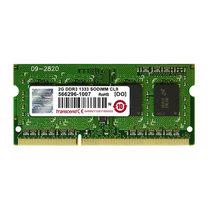 创见 DDR3 1333 2GB 笔记本内存 JM1333KSN-2G产品图片主图