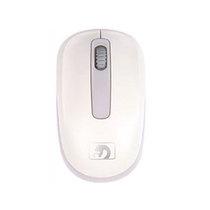 新盟 M208 银环蛇 无线鼠标笔记本电脑 白产品图片主图