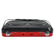 金正 视频播放器M17 7寸高清看戏机扩音器唱戏机老年人视频播放器收音 红色标配+16G空卡