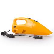 车行天下 干湿两用车载吸尘器胎压器 充气泵吸尘二合一吸尘打气一体车用 黄色