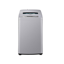 海尔 XQB60-Z918 6公斤全自动波轮洗衣机(银色)产品图片主图