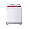 海尔 XPB85-287S 8.5公斤双桶波轮洗衣机(白色)产品图片1